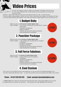 GeorgiaKeighery_VideoProduction_Pricelist2014 copy