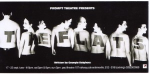 The Flats - Flyer front copy